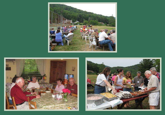 Dinners and Picnics at Pisgah View Dude Ranch