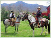 Riding Horses at Pisgah View Ranch, NC